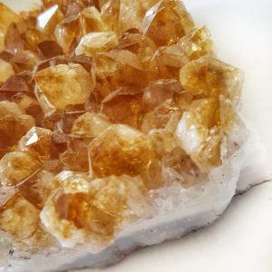 Crystal Citrine Cluster