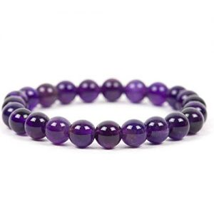Crystal Amethyst Bracelet